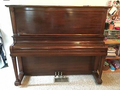 Antique Piano, Lauter Upright Grand
