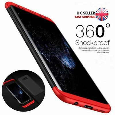 Shockproof Hybrid 360° Hard Case Protective Cover For Samsung Galaxy S8 S8 Plus