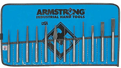 Armstrong 70-565 12 Piece Punch / Chisel Set    781412705652