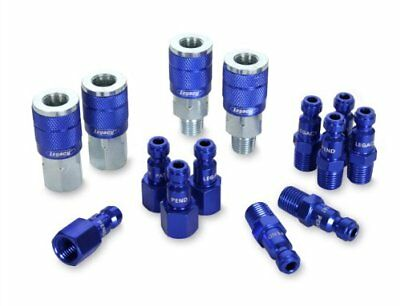 automotive air fittings type c color connex coupler and plug kit