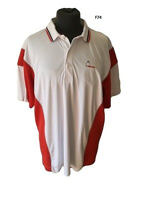 Maglia Tennis shirt trikot Jersey Camisa vintage head polo