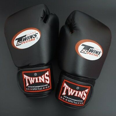 8;10;12;14 oz Twins Gloves Kick Boxing Gloves Leather PU Training Kickboxing