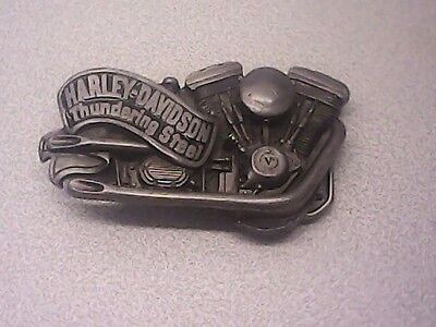 Used 1992 Harley Davidson Thundering Steel Belt  Buckel