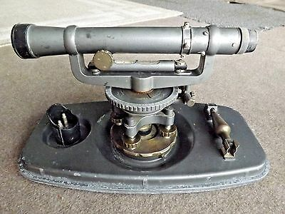 Vintage David White Instruments Meridian 8114 Survey Transit Scope with Case