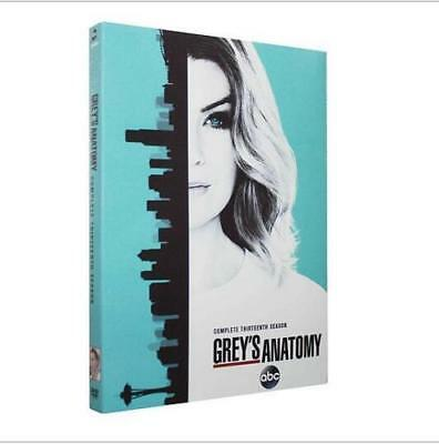 Grey's Anatomy Season 13 (DVD, 2017, 5-Disc Set) Brand New Sealed