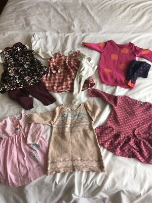 Baby Girl Clothes Bundle 3-6 months - perfect for autumn/winter