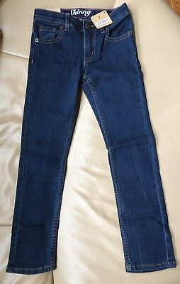 Brand New With Tags Crazy 8 Girls Skinny Fit Jeans Size 7 Regular