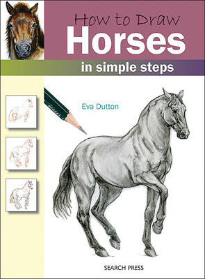 Search Press Books How To Draw Horses SP-83723