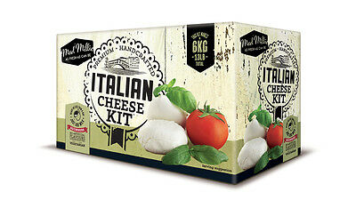 Mad Millie Complete Italian Cheese Making Kit Makes up to 6kg Just add milk