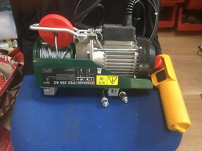 Parkside Cable Winch PSZ 250 A2 With Swing Arm
