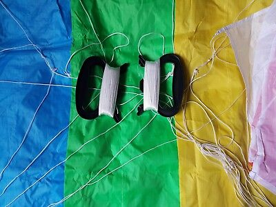1.4M Two Line Power Kite With Lines And Handles RTF