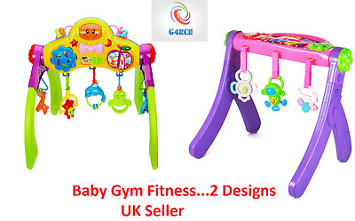 G4RCE Multifunctional Baby Toddler Fitness Frame & Gym With Lights & Sounds 3M+