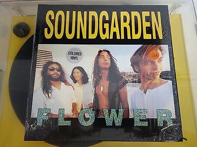 "Soundgarden ‎– Flower, SST Records ‎– SST 911, 10"", 45 RPM, Red vinyl, USA 1989"