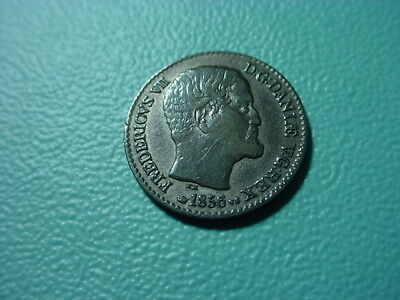 Denmark - Silver - 1856 4-Skilling In Very Nice Condition