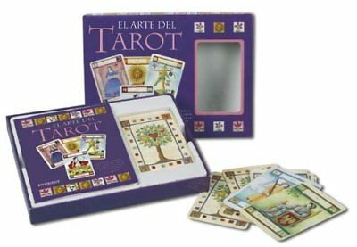 CARTAS DE TAROT_EL ARTE DEL TAROT_ 78 cartas BOX + Libro_New Sealed