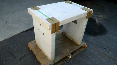 """24"""" X 35"""" X 31"""" Marble Vibration Isolation Table With 3"""" Thick Slabs"""