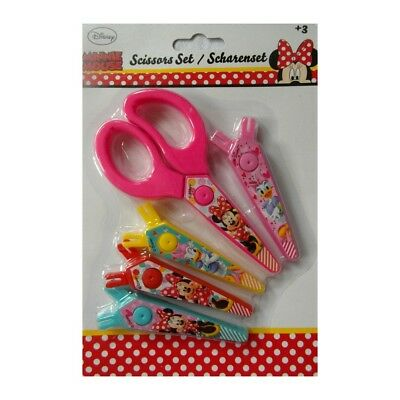 Ciseau Minnie lame interchangeable scrapbooking Disney enfant