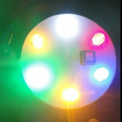 50x(Colorful Shinning 6 Led Light UFO for Kite W8X6
