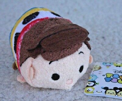 Authentic TSUM TSUM: WOODY (TOY STORY). VERY RARE, FIRST SERIES! BRAND NEW w TAG
