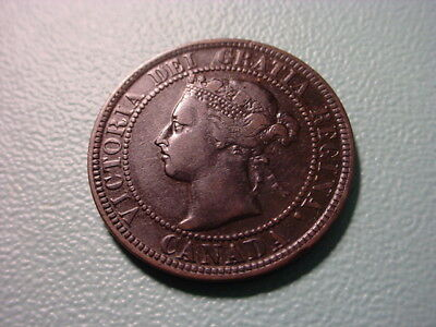 Canada 1898-H Large Cent In Very Nice Condition