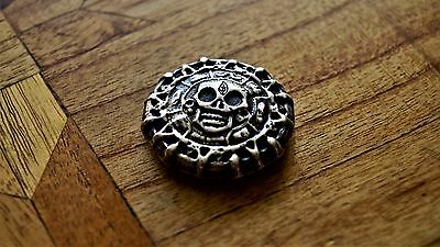 """3.44 ozt """"Antiqued Aztec"""" - Hallmarked 999 Silver Poured by Backyard Bullion"""