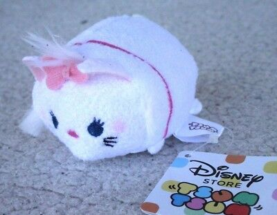 Authentic Disney TSUM TSUM: MARIE (DUCHESS, ARISTOCATS). OLD JAPAN RELEASE, NWT!