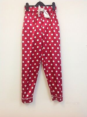 Girls 2 Colours Quality Satin Pyjama Bottoms Uk Sizes 5-14 Years