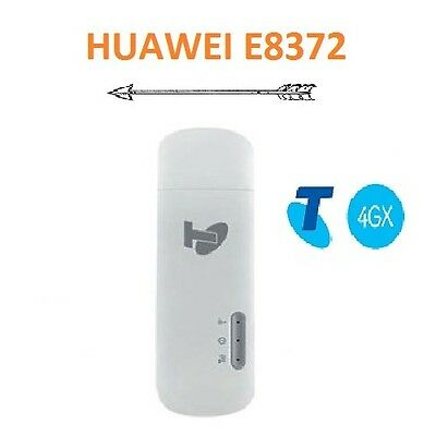 New Telstra Huawei E8372 4Gx/4G Usb+Wifi Mobile Modem