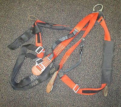 Buckingham Climbing Harness Type 1 Model 6393613 Red Size Large 350 Pounds