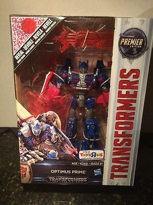 Transformers Last Knight Voyager Optimus Prime Toys R Us Exclusive