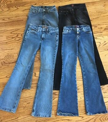 Bongo, Angels, L.e.i. & Blueasphalt Jeans Juniors Size 0/1 Lot Of 4