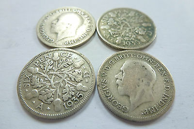 King George V Sixpence 1911-1937 Choose your year