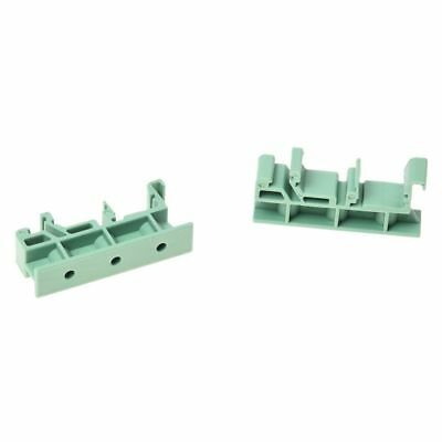 100x(PCB Circuit Board Mounting Bracket for mounting DIN rail mounting scre B8N6