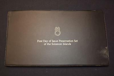 1977 First Day Of Issue Presentation Set Of The Solomon Islands