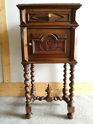 Beautiful Antique  French Bedside Cabinet
