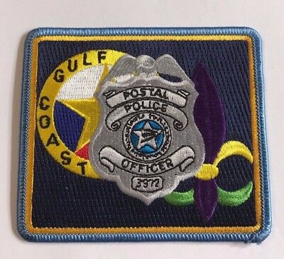 Gulf Coast Postal Police Officer Cloth Patch