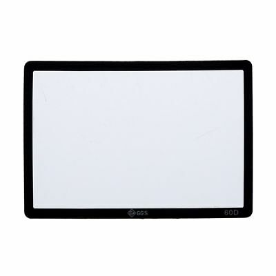 100x(Clear LCD Screen Optical Glass Protector for  60D DSLR Camera G3X6