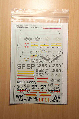 Xtradecal X48005 USAFE In Europe Pt.1 1988 F-4G 52 TFW & F-16C 52 TFW