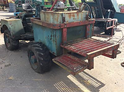 4x4 dumper tanker double bounded diesel tank with Lister engine