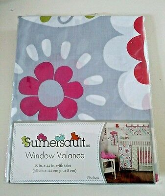 Sumersault Window Valance, Chelsea, New, Free Shipping