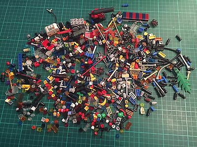 250g of mixed small Lego pieces