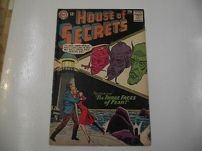 silver age House of Secrets #62