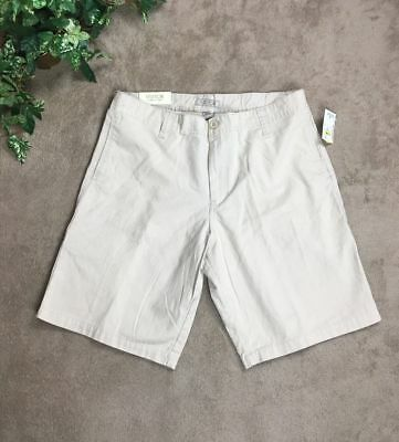 Visitor Men's Shorts Sz 32 Beige 100% Cotton Casual New NWT $79