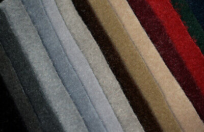 "Auto One Premium Automotive Carpet Upholstery Fabric 80""W 18 Oz. Free Shipping"