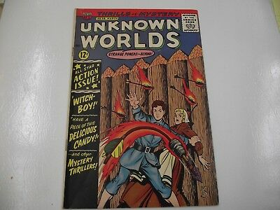 silver age Unknown Worlds #38