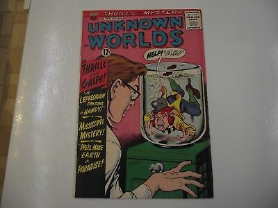 silver age Unknown Worlds #35