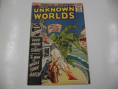 silver age Unknown Worlds #29