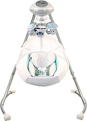Fisher-Price Moonlight Meadow Cradle 'n Swing, White