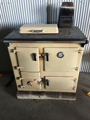 Rayburn No 2 Slow Combustion Oven / Stove And Water Tank