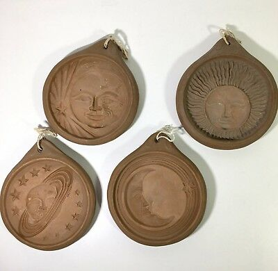 Set 4 Hartstone USA The Cookie Kit Celestial Molds Stamps Moon Star Sun Planet